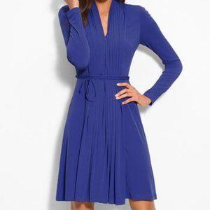 Calvin Klein Blue low cut Cocktail Dress Size 4